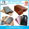 7 inch cover pouch for tablet pc colorful 3.5 inch to 10.1 inch