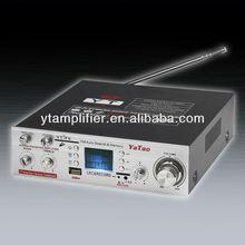 Microphone sans fil mini amplificateur avec écran LCD YT-F6 mégaphone 12 v