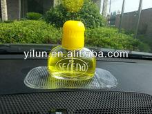 car air freshener/car perfume bottle/fashion car liquid air freshener