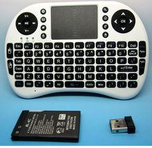Miniature nwk01 Wireless 2.4 Ghz Ultra slim Keypad Keyboard Tv Remote Game pad