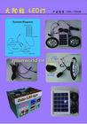 2W portable led light solar power kit