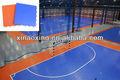 Suge de enclavamiento interior de fútbol sala de tribunal azulejo de suelo, pp azulejo de fútbol sala, de alta calidad del deporte tribunal del azulejo
