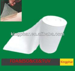Disposable Medical Supplies Jumbo Cotton Gauze Roll Made in HuBei Qianjiang Kingphar