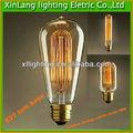 el mejor de venta de antigüedades vintage edison bombillas 60w st64 proveedor de china