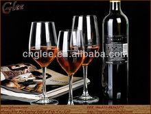 crystal grape wine glass