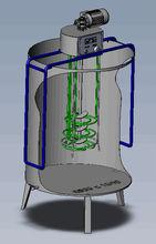 Heater for fruit cider pasteurisation