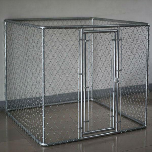 galvanized cheap chain lin dog kennels panels