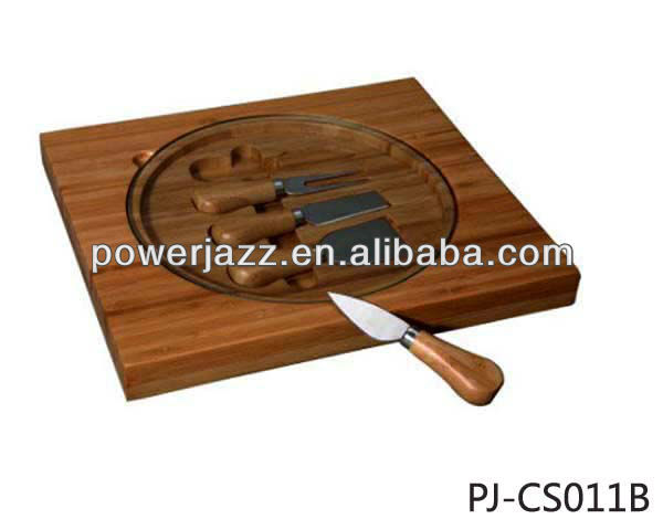 Cheese Set with 4 knives