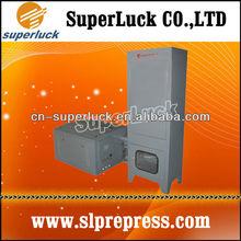 Offset KBA Printer's Spray Powder Extraction System