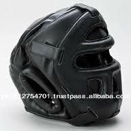 New Cage Dipped Foam Head Guard Black