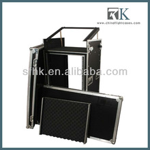 RK-Gator 14U Slant Standard Audio Road Rack Case with Casters