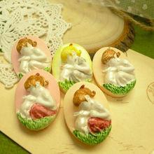 Handmade shell cameo, fairy cameo for DIY