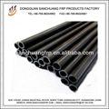 la pintura brillante de la fibra de carbono tubo para la venta