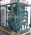 Filtro de aceite de la máquina, el aceite del transformador de la máquina de retratamiento, filtración de aceite unidad
