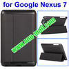 Folding Leather Smart Case for Google Nexus 7 with Holder