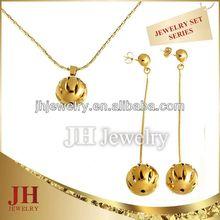 Hollow Ball Jewelry Set JH 2015 milky way jewelry co ltd