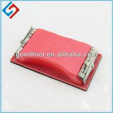 De goma bloque de lijado gd6306, clavo de bloques de lijado, de la mano de bloque de lijado