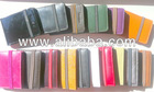 Real Leather Wallets Credit Card Holder ID Business Case Purse Men Women