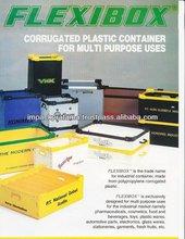 Multipurpose Use Polypropylene PP Plastic Corrugated Box