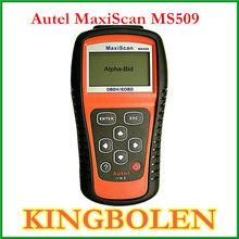 Wholesale AUTEL Maxidas MS509 OBDII/EOBD Auto Code Reader MS 509 OBD2 Car Scanner compliant US/European/Asian vehicles