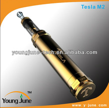 2014 New product from young june electric cigarette vceego mechanical mod philippines Tesla-M2