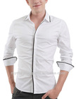 White Cotton Best Quality Fashion Design Men's Cotton Dress Shirt 2013 / Dress shirt / Shirt / Shirt men