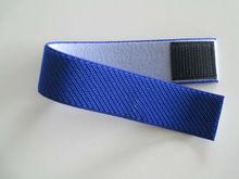 Majic pile elastic velcro strap Polyester polyamide rubber