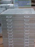 galvanized outdoor drain cover,galv smooth grating,galvanized marine grating