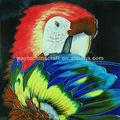 colorido loro imágenes del azulejo de cerámica de regalo de artesanía para el hogar decro