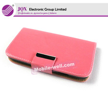 Hot Selling fashional leather Cell phone protector case for samsung s4 i9500 caso protector