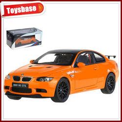 Die cast car toyota model 1:18 alloy car toys M3 GTS new design die cast car