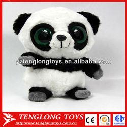 stuffed plush panda big eyes cute plush panda