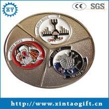 Hot sale 2013 free design cheap souvenir coin provider