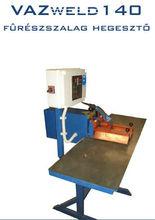 Wide bandsaw welding machine