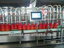automatic peanut oil,olive oil ,sunflower seeds oil filling line