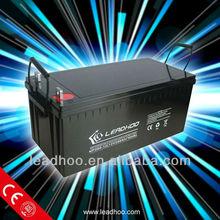 solar panel battery/solar batteries 24v 200ah