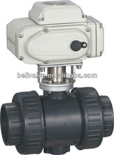 water treatment Electric Plastic Ball Valve with actuator