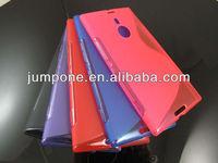 s line TPU Soft Back Case Cover For Nokia Lumia 1520 bendit