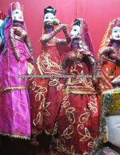 Indian Jaisalmeri Kathputlia Puppets