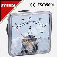 high quality Amper panel analog ammeter 60*60mm