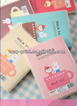 Clear Plastic Cover Notebooks, PVC Cover Notebook
