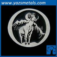 Big Horn Sheep Bronze Belt Buckle