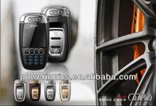 cheap Mini Car Key Mobile Phone small mini key mobil with Colorful Lights Q7 mobile phone