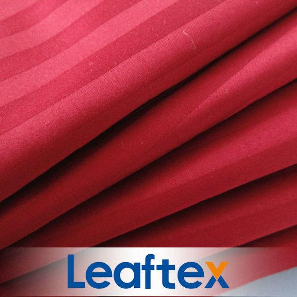 CVC Stripe Satin Bedding Fabric