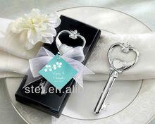 "Wholesale Wedding Favors ""Key To My Heart"" Victorian Style Bottle Opener"
