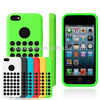 2013 new products fashion dot hole original case for iphone 5c