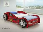 Smart Kids E1 MDF-Super Sport Car Bed (RED)