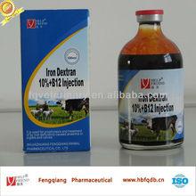 Weight gain medicine Iron dextran10% + Vitamin B12 injection