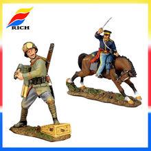 men gift toy small soldier figures metal soldier figures