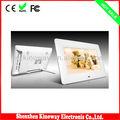 800*480 7 pulgadas marco de fotos digital ce, de la fcc, rohs lcd digital de álbum de fotos